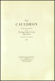 Page 7, 1927 Edition, Huntington Beach High School - Cauldron Yearbook (Huntington Beach, CA) online yearbook collection