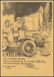 Page 7, 1942 Edition, Huntington Beach High School - Cauldron Yearbook (Huntington Beach, CA) online yearbook collection