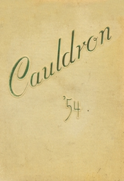 Page 1, 1954 Edition, Huntington Beach High School - Cauldron Yearbook (Huntington Beach, CA) online yearbook collection