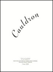 Page 5, 1954 Edition, Huntington Beach High School - Cauldron Yearbook (Huntington Beach, CA) online yearbook collection