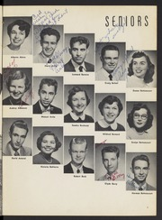 Page 11, 1955 Edition, Washington High School - Washingtonian Yearbook (Fremont, CA) online yearbook collection