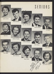 Page 17, 1955 Edition, Washington High School - Washingtonian Yearbook (Fremont, CA) online yearbook collection