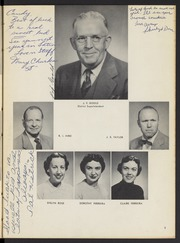 Page 7, 1955 Edition, Washington High School - Washingtonian Yearbook (Fremont, CA) online yearbook collection