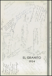 Page 5, 1934 Edition, Porterville Union High School - El Granito Yearbook (Porterville, CA) online yearbook collection