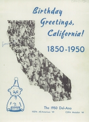Page 5, 1950 Edition, Delano High School - Del Ano Yearbook (Delano, CA) online yearbook collection