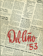 Delano High School - Del Ano Yearbook (Delano, CA) online yearbook collection, 1953 Edition, Page 1