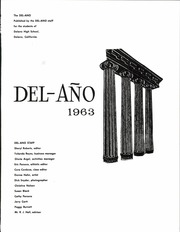 Page 7, 1963 Edition, Delano High School - Del Ano Yearbook (Delano, CA) online yearbook collection