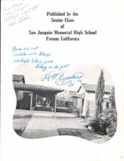 Page 11, 1954 Edition, San Joaquin Memorial High School - Spirit Yearbook (Fresno, CA) online yearbook collection