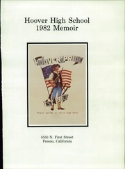 Page 3, 1982 Edition, Hoover High School - Memoir Yearbook (Fresno, CA) online yearbook collection