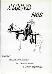 Page 3, 1968 Edition, Leland High School - Legend Yearbook (San Jose, CA) online yearbook collection