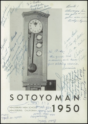 Page 5, 1950 Edition, Healdsburg High School - Sotoyoman Yearbook (Healdsburg, CA) online yearbook collection