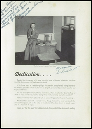 Page 7, 1950 Edition, Healdsburg High School - Sotoyoman Yearbook (Healdsburg, CA) online yearbook collection