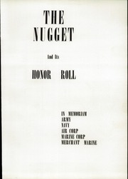 Page 7, 1944 Edition, Oroville Union High School - Nugget Yearbook (Oroville, CA) online yearbook collection