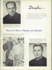 Page 10, 1957 Edition, St Augustine High School - Saintsman Yearbook (San Diego, CA) online yearbook collection