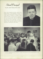 Page 9, 1957 Edition, St Augustine High School - Saintsman Yearbook (San Diego, CA) online yearbook collection