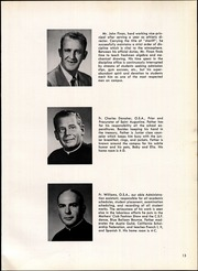 Page 17, 1960 Edition, St Augustine High School - Saintsman Yearbook (San Diego, CA) online yearbook collection