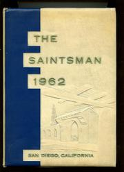 1962 Edition, St Augustine High School - Saintsman Yearbook (San Diego, CA)