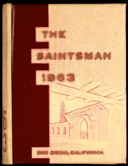 1963 Edition, St Augustine High School - Saintsman Yearbook (San Diego, CA)