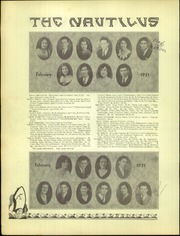 Page 14, 1931 Edition, Roosevelt High School - Nautilus Yearbook (Fresno, CA) online yearbook collection