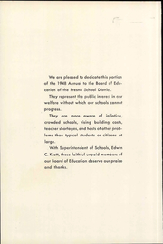 Page 14, 1948 Edition, Roosevelt High School - Nautilus Yearbook (Fresno, CA) online yearbook collection