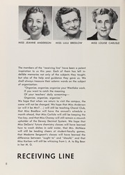 Page 12, 1954 Edition, Westlake School for Girls - Vox Puellarum Yearbook (Los Angeles, CA) online yearbook collection