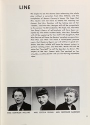 Page 15, 1954 Edition, Westlake School for Girls - Vox Puellarum Yearbook (Los Angeles, CA) online yearbook collection