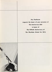 Page 7, 1954 Edition, Westlake School for Girls - Vox Puellarum Yearbook (Los Angeles, CA) online yearbook collection