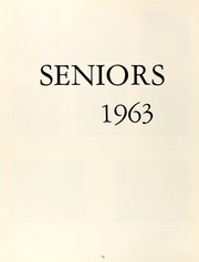 Page 16, 1963 Edition, Westlake School for Girls - Vox Puellarum Yearbook (Los Angeles, CA) online yearbook collection