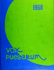 1968 Edition, Westlake School for Girls - Vox Puellarum Yearbook (Los Angeles, CA)