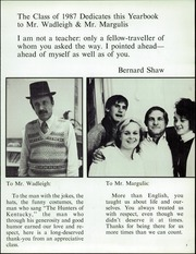 Page 7, 1987 Edition, Crystal Springs Uplands High School - Yearbook (Hillsborough, CA) online yearbook collection