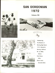 Page 5, 1972 Edition, Banning High School - Broncos Yearbook (Banning, CA) online yearbook collection