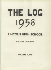 Page 5, 1958 Edition, Lincoln High School - Best of Lincoln Yearbook (Stockton, CA) online yearbook collection