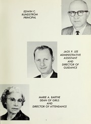 Page 9, 1961 Edition, Livermore High School - El Vaquero Yearbook (Livermore, CA) online yearbook collection