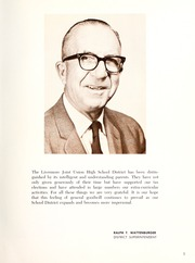 Page 9, 1964 Edition, Livermore High School - El Vaquero Yearbook (Livermore, CA) online yearbook collection