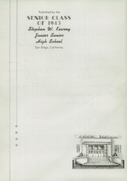 Page 6, 1945 Edition, Kearny High School - Komet Yearbook (San Diego, CA) online yearbook collection