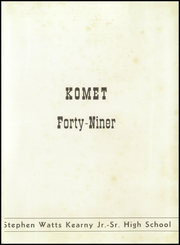 Page 5, 1949 Edition, Kearny High School - Komet Yearbook (San Diego, CA) online yearbook collection