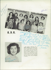 Page 15, 1952 Edition, Kearny High School - Komet Yearbook (San Diego, CA) online yearbook collection
