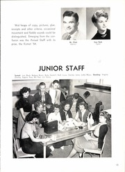 Page 17, 1954 Edition, Kearny High School - Komet Yearbook (San Diego, CA) online yearbook collection