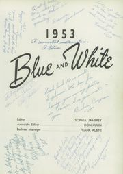 Page 5, 1953 Edition, Madera Union High School - Madera Yearbook (Madera, CA) online yearbook collection