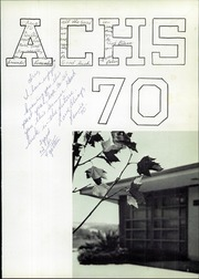 Page 5, 1970 Edition, Amador County High School - Skip Yearbook (Sutter Creek, CA) online yearbook collection