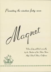 Page 8, 1947 Edition, Selma Union High School - Magnet Yearbook (Selma, CA) online yearbook collection