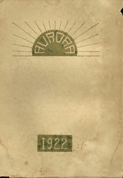 1922 Edition, Anderson Union High School - Aurora Yearbook (Anderson, CA)