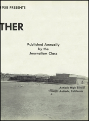 Page 9, 1958 Edition, Antioch High School - Panther Yearbook (Antioch, CA) online yearbook collection