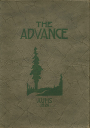 Arcata High School - Advance Yearbook (Arcata, CA) online yearbook collection, 1926 Edition, Page 1