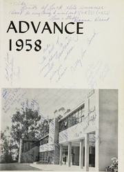 Page 5, 1958 Edition, Arcata High School - Advance Yearbook (Arcata, CA) online yearbook collection