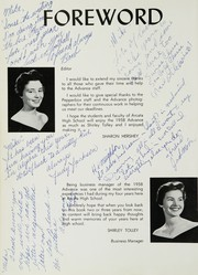 Page 6, 1958 Edition, Arcata High School - Advance Yearbook (Arcata, CA) online yearbook collection