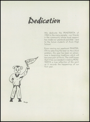 Page 7, 1950 Edition, Arvin High School - Praeterita Yearbook (Arvin, CA) online yearbook collection