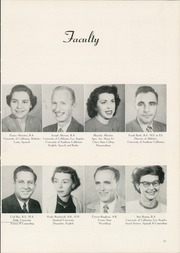 Page 15, 1952 Edition, Arvin High School - Praeterita Yearbook (Arvin, CA) online yearbook collection