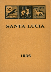 1936 Edition, Atascadero High School - Santa Lucia Yearbook (Atascadero, CA)