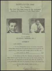 Page 5, 1944 Edition, Atascadero High School - Santa Lucia Yearbook (Atascadero, CA) online yearbook collection